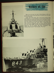 Page 10, 1954 Edition, Warrington (DD 843) - Naval Cruise Book online yearbook collection