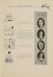 Page 14, 1924 Edition, Ann Arbor High School - Omega Yearbook (Ann Arbor, MI) online yearbook collection