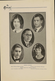Page 7, 1924 Edition, Ann Arbor High School - Omega Yearbook (Ann Arbor, MI) online yearbook collection