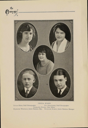 Page 9, 1924 Edition, Ann Arbor High School - Omega Yearbook (Ann Arbor, MI) online yearbook collection