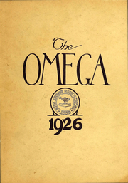 Ann Arbor High School - Omega Yearbook (Ann Arbor, MI) online yearbook collection, 1926 Edition, Page 1