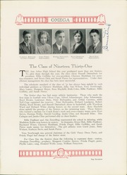 Page 21, 1931 Edition, Ann Arbor High School - Omega Yearbook (Ann Arbor, MI) online yearbook collection