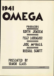 Page 7, 1941 Edition, Ann Arbor High School - Omega Yearbook (Ann Arbor, MI) online yearbook collection