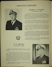 Page 10, 1960 Edition, Wasp (CVS 18) - Naval Cruise Book online yearbook collection