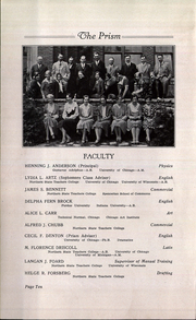 Page 14, 1931 Edition, Graveraet High School - Prism Yearbook (Marquette, MI) online yearbook collection