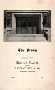 Page 5, 1931 Edition, Graveraet High School - Prism Yearbook (Marquette, MI) online yearbook collection