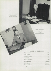 Page 14, 1951 Edition, Graveraet High School - Prism Yearbook (Marquette, MI) online yearbook collection