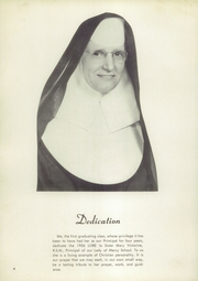 Page 8, 1956 Edition, Our Lady of Mercy School - Lore Yearbook (Detroit, MI) online yearbook collection