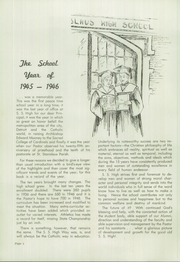 Page 6, 1946 Edition, St Stanislaus High School - Stan Em Yearbook (Detroit, MI) online yearbook collection