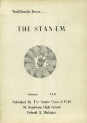 Page 5, 1949 Edition, St Stanislaus High School - Stan Em Yearbook (Detroit, MI) online yearbook collection