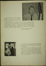 Page 8, 1957 Edition, Whetstone (LSD 27) - Naval Cruise Book online yearbook collection