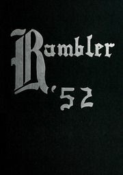 1952 Edition, Montrose High School - Rambler Yearbook (Montrose, MI)