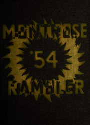 1954 Edition, Montrose High School - Rambler Yearbook (Montrose, MI)
