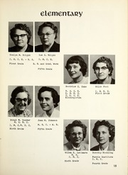 Page 15, 1955 Edition, Montrose High School - Rambler Yearbook (Montrose, MI) online yearbook collection