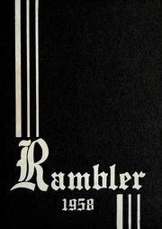 1958 Edition, Montrose High School - Rambler Yearbook (Montrose, MI)