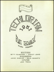 Page 3, 1951 Edition, Flint Technical High School - Techlorian Yearbook (Flint, MI) online yearbook collection