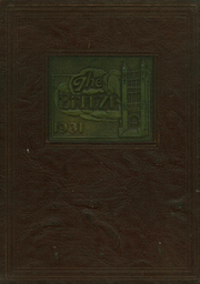 1931 Edition, Washington Gardner High School - Breeze Yearbook (Albion, MI)