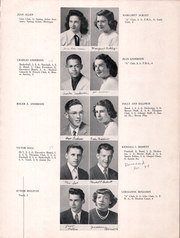 Page 7, 1949 Edition, Washington Gardner High School - Breeze Yearbook (Albion, MI) online yearbook collection