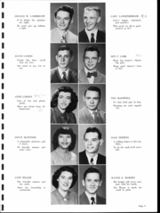 Page 10, 1950 Edition, Washington Gardner High School - Breeze Yearbook (Albion, MI) online yearbook collection