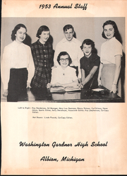 Page 3, 1953 Edition, Washington Gardner High School - Breeze Yearbook (Albion, MI) online yearbook collection
