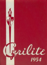 1954 Edition, St Cyril High School - Cyrilite Yearbook (Detroit, MI)