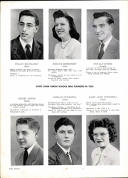 Page 10, 1947 Edition, St John High School - Blue Book Yearbook (Jackson, MI) online yearbook collection