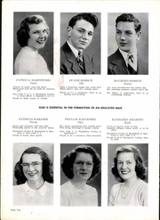 Page 8, 1947 Edition, St John High School - Blue Book Yearbook (Jackson, MI) online yearbook collection