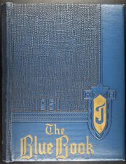 1951 Edition, St John High School - Blue Book Yearbook (Jackson, MI)