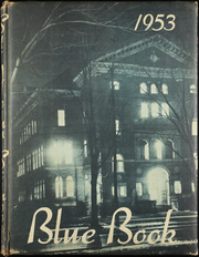 1953 Edition, St John High School - Blue Book Yearbook (Jackson, MI)