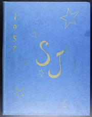 1957 Edition, St John High School - Blue Book Yearbook (Jackson, MI)