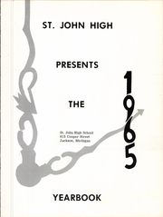 Page 5, 1965 Edition, St John High School - Blue Book Yearbook (Jackson, MI) online yearbook collection
