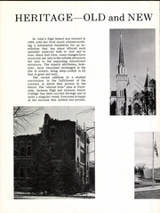 Page 8, 1965 Edition, St John High School - Blue Book Yearbook (Jackson, MI) online yearbook collection