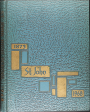 1968 Edition, St John High School - Blue Book Yearbook (Jackson, MI)