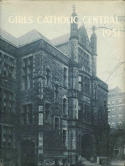 1951 Edition, Girls Catholic Central High School - Memories Yearbook (Detroit, MI)