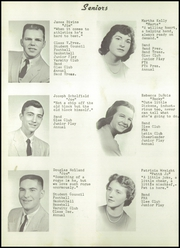 Page 12, 1956 Edition, Brooklyn High School - Eagle Yearbook (Brooklyn, MI) online yearbook collection