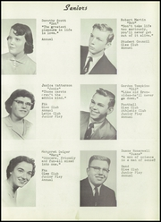 Page 15, 1956 Edition, Brooklyn High School - Eagle Yearbook (Brooklyn, MI) online yearbook collection