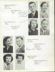 Page 17, 1950 Edition, Wilson High School - Wilsonian Yearbook (St Johns, MI) online yearbook collection