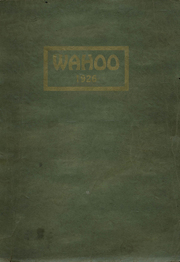 1926 Edition, Dowagiac Central High School - Wahoo Yearbook (Dowagiac, MI)