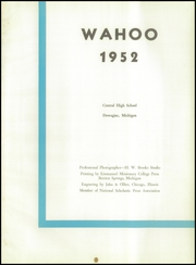 Page 5, 1952 Edition, Dowagiac Central High School - Wahoo Yearbook (Dowagiac, MI) online yearbook collection