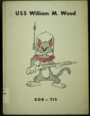 1954 Edition, William M Wood (DDR 715) - Naval Cruise Book