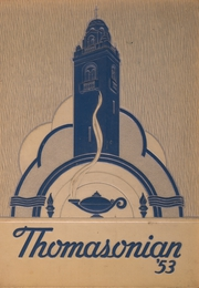 1953 Edition, St Thomas High School - Thomasonian Yearbook (Detroit, MI)