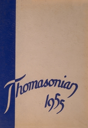 1955 Edition, St Thomas High School - Thomasonian Yearbook (Detroit, MI)