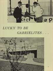 Page 7, 1967 Edition, Gabriels High School - Trumpet Yearbook (Lansing, MI) online yearbook collection