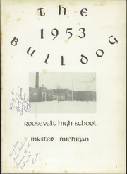 Page 5, 1953 Edition, Roosevelt High School - Bulldog Yearbook (Inkster, MI) online yearbook collection
