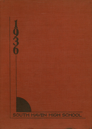 1936 Edition, South Haven High School - Ram Yearbook (South Haven, MI)