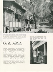 Page 9, 1953 Edition, Whittier College - Acropolis Yearbook (Whittier, CA) online yearbook collection