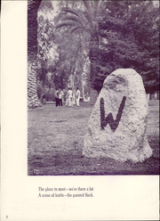 Page 8, 1957 Edition, Whittier College - Acropolis Yearbook (Whittier, CA) online yearbook collection