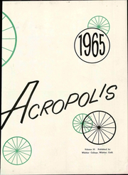 Page 9, 1965 Edition, Whittier College - Acropolis Yearbook (Whittier, CA) online yearbook collection