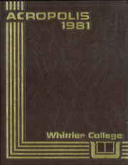 1981 Edition, Whittier College - Acropolis Yearbook (Whittier, CA)