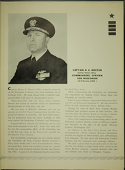 Page 17, 1952 Edition, Wisconsin (BB 64) - Naval Cruise Book online yearbook collection